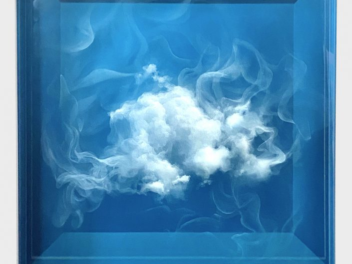 Cloud in glas